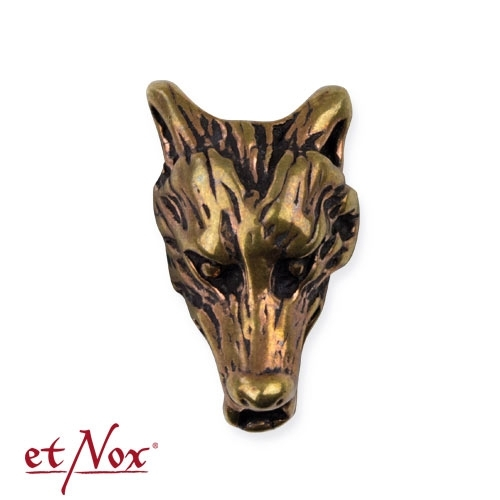 etNox Wolf - Beard and hair pearl, bronze